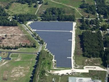 Duke Energy solar farm in Florida