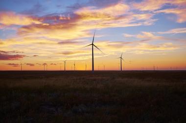 Rush Creek Wind Farm (Photo courtesy of Xcel Energy)