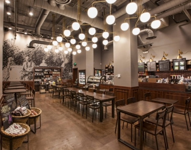 Starbucks announces the opening of its 1,000th LEED-certified store.