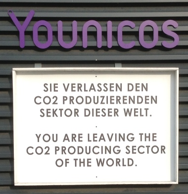 Younicos Sign (Images from a 2014 tour that CleanTechnica had of the Berlin Younicos headquarters.)