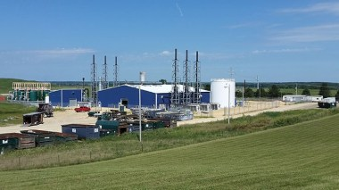 Hoosier Energy site (courtesy of Hoosier Energy)
