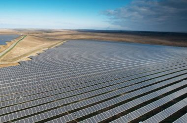 New Mexico solar array