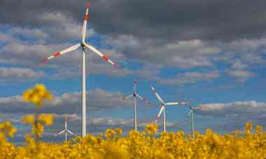 Windfarm in Germany (Photo: Bloomberg / Getty Images)