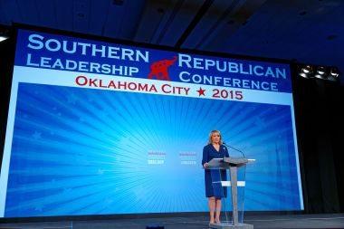 Governor Mary Fallin (photo by Michael Vadon, CC BY-SA, Wikimedia Commons)