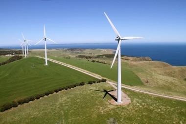 Wind farm in South Australia