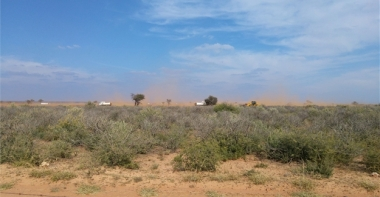 Kathu site in Northern Cape