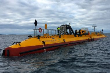 Tidal turbine (Scotrenewables image)