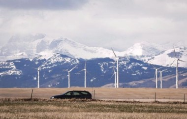 Canadian Wind Farm (Image: The Canadian Press)