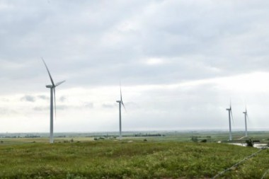 Gulf Power wind farm (Photo courtesy of Gulf Power)