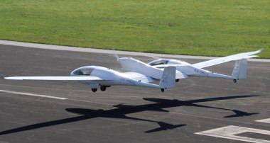 HY4 hydrogen fuel cell aircraft