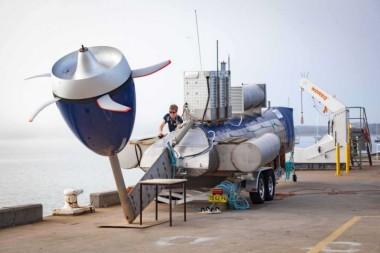Tidal turbine (AMC image)