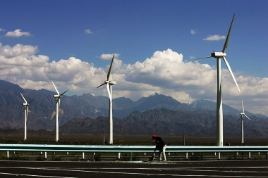Dafancheng Wind Power Plant  (China Photos – Getty Images)