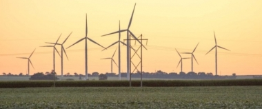 Midwest wind farm