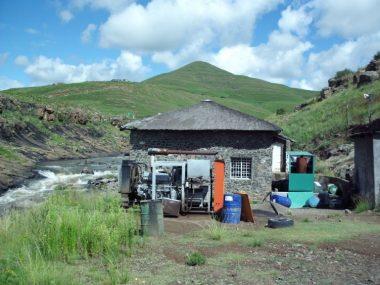 Remote hydro facility