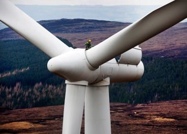 Farr wind farm in Scotland (Siemens image)