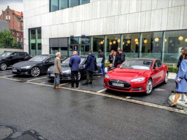 Teslas in Poland