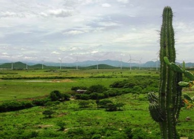 Wind farm in Mexico (Enel image)