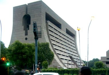 Civic Center in New Delhi (CC BY-SA, Wikimedia Commons)