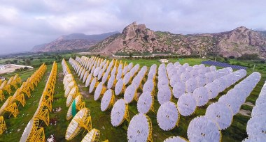 India One Solar Thermal Power Plant  (Brahma Kumaris via Flickr)