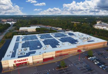 Target solar installation (Image via SEIA)