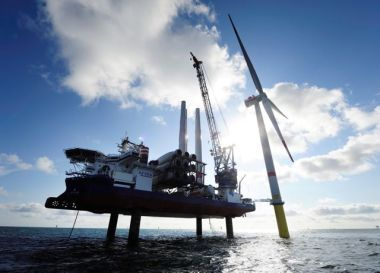 Turbine installation at Gode 1&2 (Siemens image)