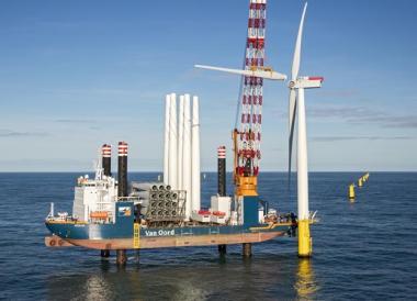 Offshore wind installation (Van Oord image)