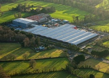 Kingspan solar rooftop project in Ireland (Kingspan image)