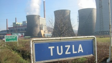 Coal plant in Tuzla (Pic: Flickr/Steffen Emrich)