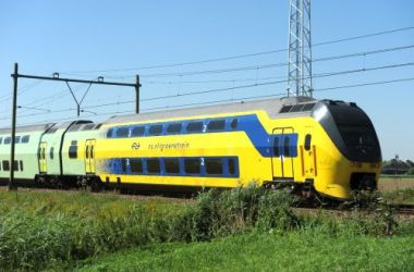 Electric train in the Netherlands (photo by Quintus Vosman)
