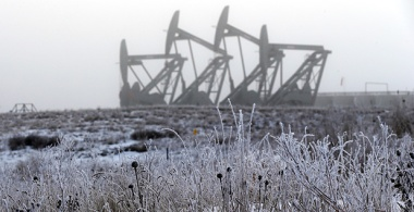 North Dakota oil pumps (Photo courtesy of AP Images)
