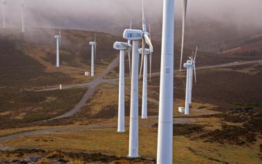 Wind park in Spain (Author: Santi Villamarín, CC BY-SA 2.0)