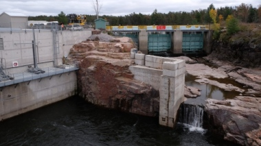 Okikendawt Hydro Project (Credit: Nicole Ireland / CBC )