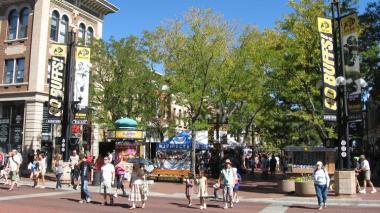 The Pearl Street Mall in Boulder  (Mark Harden | Denver Business Journal)