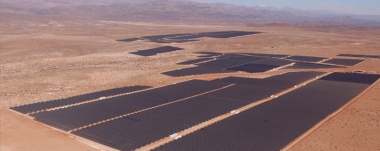 The El Romero Solar plant (Photo courtesy of Acciona)