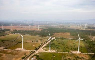 Wind farm in Mexico. (Author: Presidencia de la República Mexicana. CC BY SA 2.0)