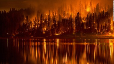 Climate change, worsening droughts, increasing wildfire risks