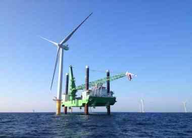 Vattenfall offshore wind farm (Vattenfall image)