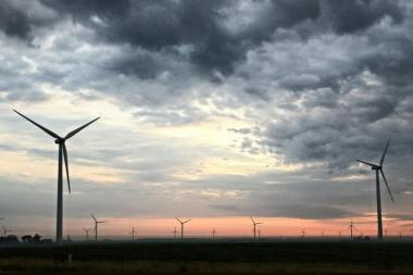 Wind power in Indiana (Tony Krabill / WVPE)