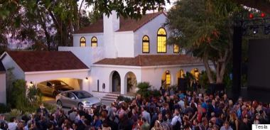 Tuscan Glass Tile solar roof (Tesla photo)