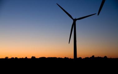 Wind turbine (Author: Ville-Matti Kaartinen,  License: Creative Commons, Attribution-NoDerivs 2.0 Generic)