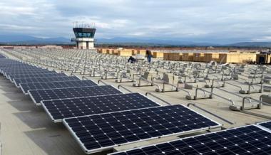 Solar array in Burlington (Burlington Electric Department photo)
