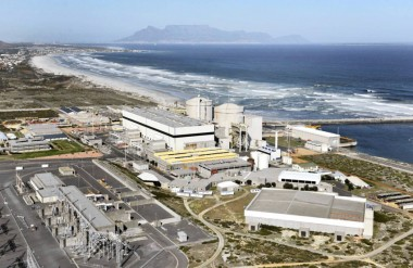 Koeberg, South Africa's only nuclear power station  (File picture: Bruce Sutherland, City of Cape Town)