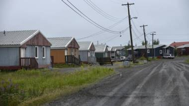 Town of Fort McPherson, NWT  (Fred Lum / The Globe and Mail)