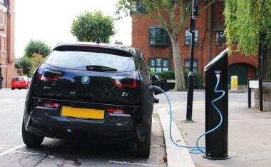 EV charging (POD Point image)