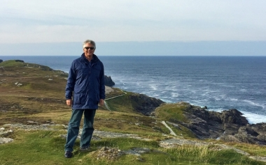 ORPC President and CEO Chris Sauer in Ireland.  (Photo courtesy Ocean Renewable Power Co)
