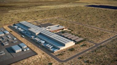 Facebook data center for Los Lunas (Source: Facebook)