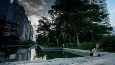 Shenzhen has won awards for its efforts to tackle climate change. (Brent Ng / Associated Press)