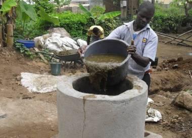 Bioreactor in Cameroon (Photo: Bioenergy-Cameroon)