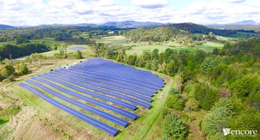 Vermont solar array