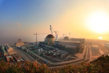 Westinghouse reactor under construction